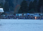 Christmas Boat Parade on Lake Washington on Niemisto's boat