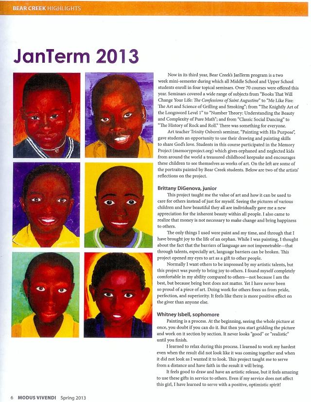 2013 African boy portrait by Mia 004