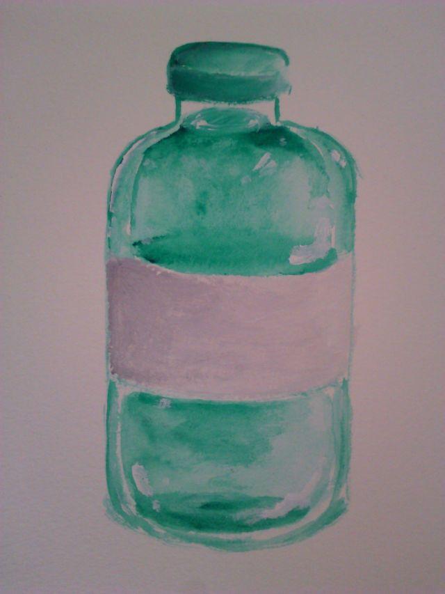 Timed free draw by Mia, acrylic