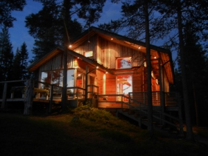 A night at the cabin